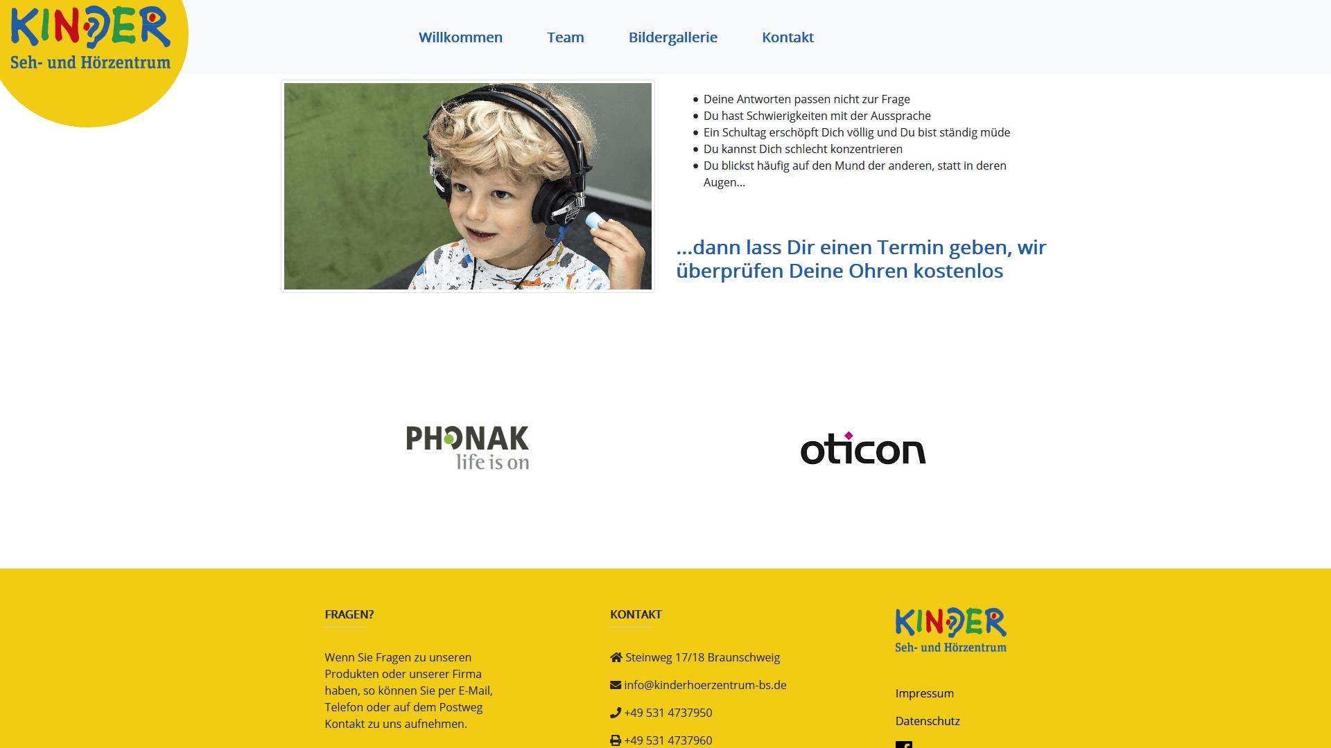 Hören - Kinder Seh- und Hörzentrum