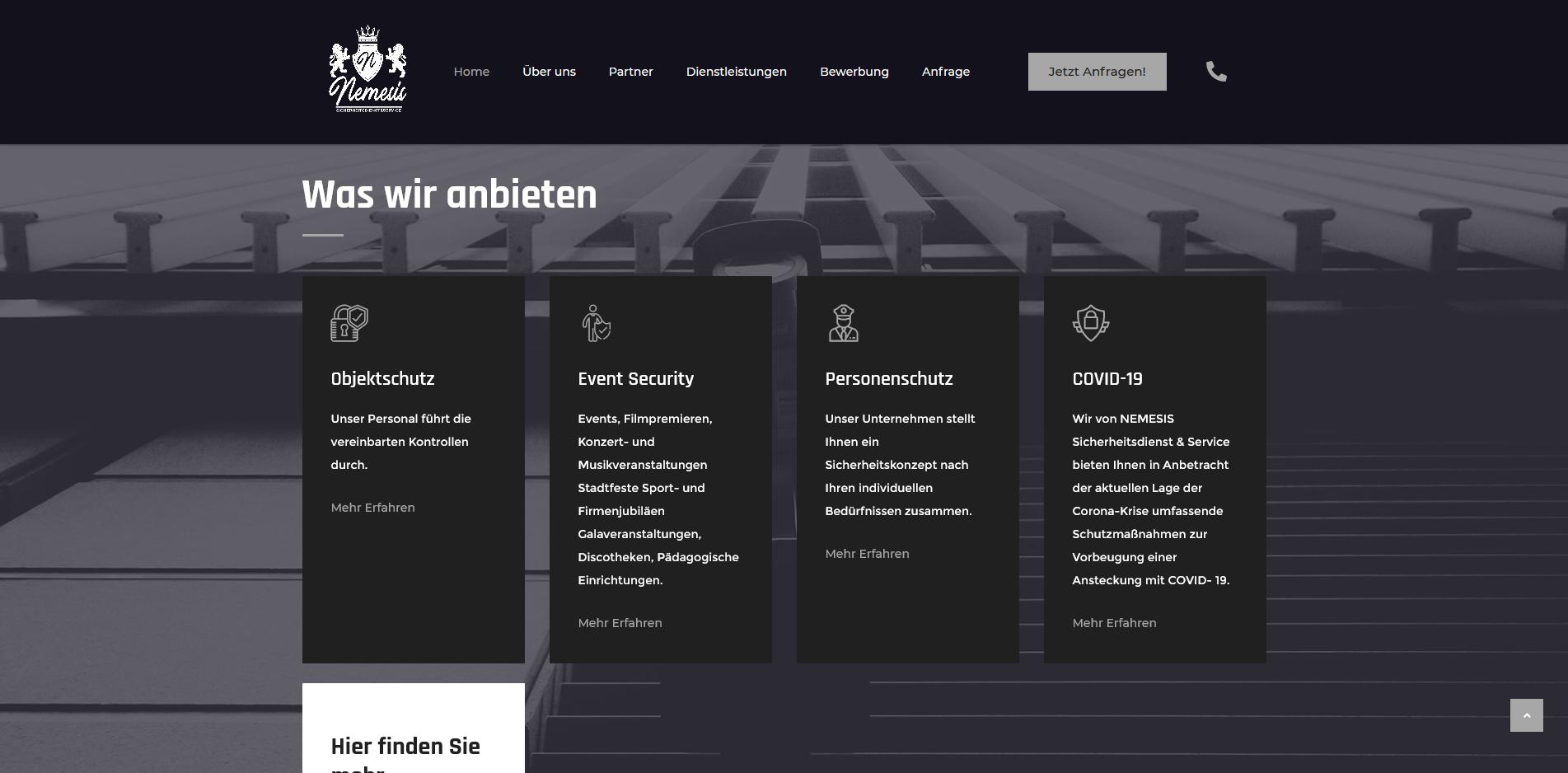 Nemesis Sicherheitsdienst